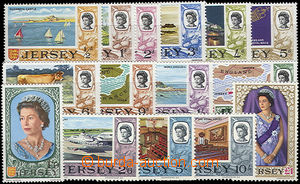 52057 - 1969 JERSEY Mi.7-21, catalogue 50€