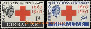 52058 - 1963 Mi.164-65, c.v.. 24€