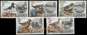 52061 - 1984 ALDERNEY Mi.13-17, catalogue 28€