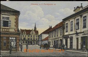 52088 - 1916 Chlumec nad Cidlinou,  Perštýnská ulice; prošlá, l