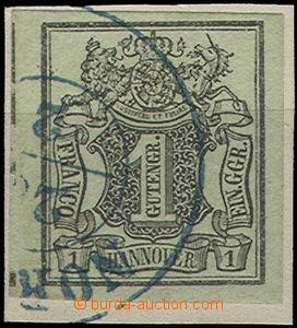 52145 - 1851 Mi.2, very wide margins