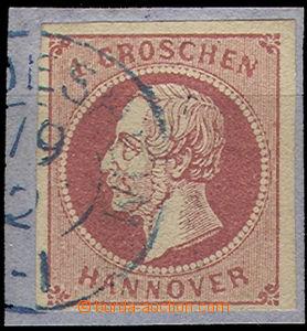 52146 - 1859 HANNOVER Mi.14d, catalogue 110€