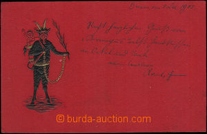 52167 - 1905 Old Nick -  embossed; long address, Us, very good condi