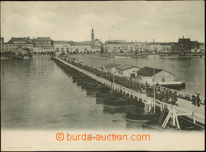 52290 - 1900 Koblenz - view of batt./guidon army marching after/arou