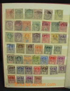 52298 - 1880-1960 BRITISH COLONIES  comp. of stamps in 9 sheet stock