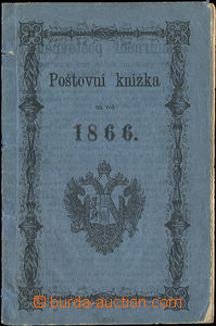 52383 - 1866 Post-Book in Czech, on reverse torn in margin