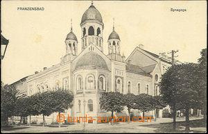 52497 - 1910 Františkovy Lázně - synagogue; Un, very light stains in