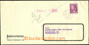 52499 - 1945 commercial letter addressed to to Austria, franked with