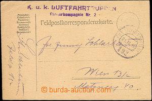 52502 - 1917 K.u.K. LUFTFAHRTRUPPEN/ Fliegerkompagnie Nr.2, řádkov
