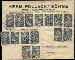 52542 - 1922 AUSTRIA  firemní dopis firmy Herm. Pollack's Söhne, W