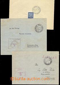 53533 - 1939-42 2x dopis přepravený DDP Prag 2/ a/1.3.41, Brünn/