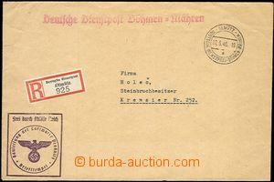 53534 - 1940 R dopis přepravený DDP Olmütz, rozlišovací písmen