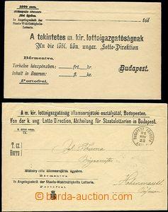 53737 - 1881-13 3ks dopisů s osvobozením od poštovného, 1x jako R s