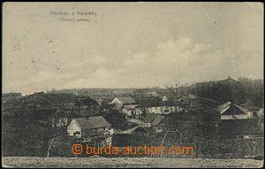 53967 - 1910 Koloděje - celkový pohled; prošlá, lehké skvrny, odřené