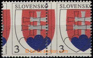 54199 - 1993 Zsf.2 Státní znak, vodorovná 2-páska s velkým posu