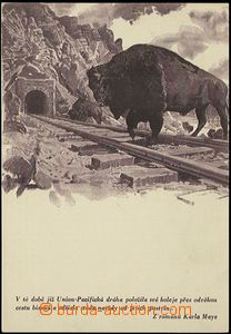 54451 - 1930? BURIAN Zdeněk, from novels Carl Maye, monochrome, tmav