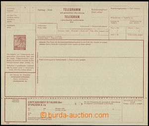 54506 - 1939 CTU1a, light folded in perforation otherwise well prese