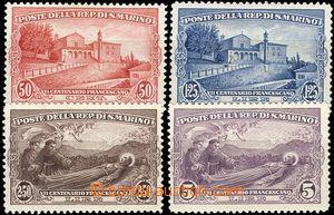 54515 - 1928 Mi.141-44, kompletní série, hodnoty 2,5oL a 5L svěží, k