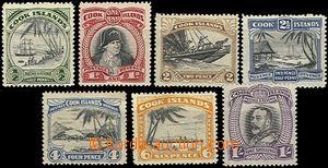 54531 - 1933-36 Mi.38-44, kompl. série, kat. 50€