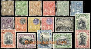 54533 - 1926-27 Mi.115-31 výplatní, kompl. série, kat. 350€