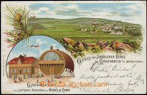 54562 - 1899 Javorník (Jaberlich) - lithography; long address, Us,