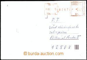 54611 - 1980 R dopis vyplacený OVS pro R zásilky,  Praha 5/ 08.9.8