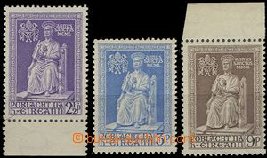 54624 - 1950 Mi.111-13, complete set., 2 pcs of with sheet margin, m