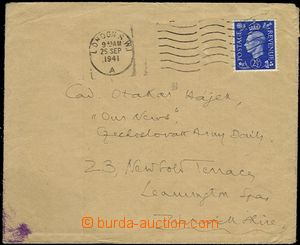 54726 - 1941 letter to editors military diary Our News in/at Leaming