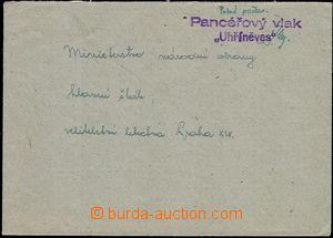 54760 - 1945 dopis zaslaný na MNO prostřednictvím PP, řádkové