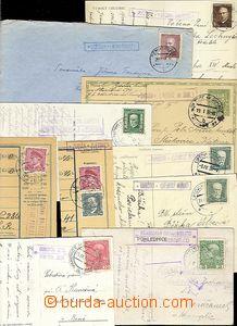 54768 - 1914-49 comp. 10 pcs of entires (letter, postcard, PC, cuts)