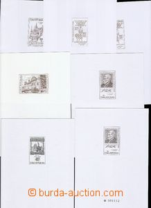 54971 - 1999-06 PT9a, 13a+b, 16a, 20a+b, 21, mint never hinged, c.v.