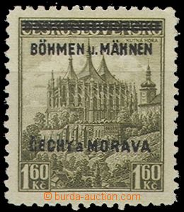 54973 - 1939 Pof.13DV Kutná Hora s DV  N místo R, zk. Mrňák, men