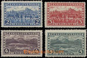 54996 - 1926 Pof.225-228 Prague–Tatras, wmk 6, 6, 7, 6, 1x hint (2