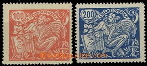 55008 - 1923 Pof.173B/II.+Pof.174AII., marked, nice quality, 1x exp.