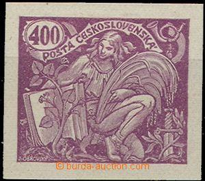 55013 - 1920 Pof.167ZT HaV 400h, zkouška tisku v barvě fialové, p