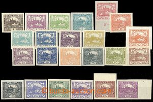 55094 -  Pof.1-26 outside No.6, 9, 13, total 23 pcs of, 1x with cont