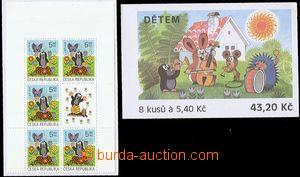 55118 - 2002 Pof.ZSt16 Dětem,  2ks ZS se známkou Pof.323, světlý