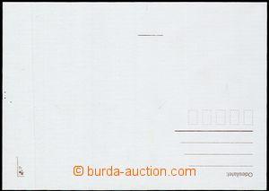 55159 - 1997 CDV21 Praga 1998, dopisnice s velkým nedotiskem známk