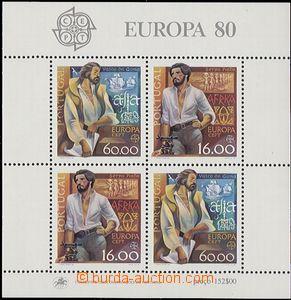 55161 - 1980 Mi.Bl.29 Europa (Mi.2x 1488-1489), svěží, kat. 15€