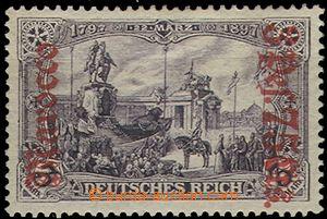 55184 - 1905 Mi.32A, přetisková, zoubky 26:17, dobrá kvalita, kat