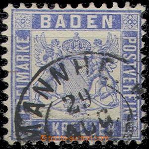 55238 - 1864 Mi.19, částečně překrývající razítko, dobře zachovalé,