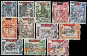 55282 - 1966 Mi.53-64, kat. 36€