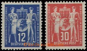 55390 - 1949 Mi.243-4 Congress, mint never hinged, c.v.. 30€