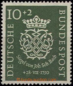 55393 - 1950 Mi.121  J.S.Bach, svěží, kat. 75€