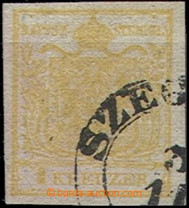55399 - 1850 Mi.1 Ib/2, on both sides print, wide margins, part CDS