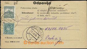 55509 - 1935 printed matter č.419A (I-1935), Czech variety, Answer