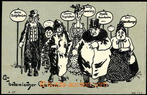 55554 - 1900 caricature Jews with German names významově from regi