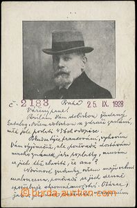 55613 - 1928 LEŠETICKÝ Jaroslav, světoznámý collector and exper