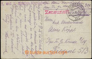 55614 - 1916 k.u.k. (Imperial and Royal) Mobiles-Pferdedepot No.15,