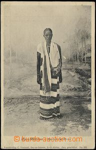 55664 - 1915 TANZANIA  domorodá dívka, vydáno v Dar-es-Salaam, Deuts